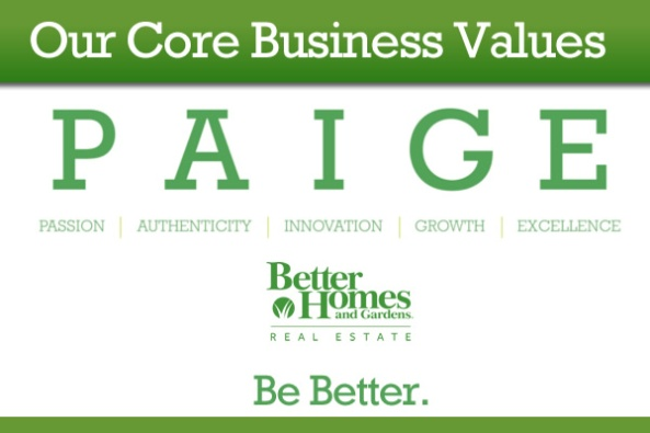 Be Better Core Values